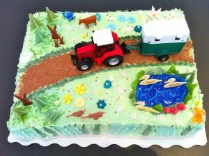 Torte-Bauernhof